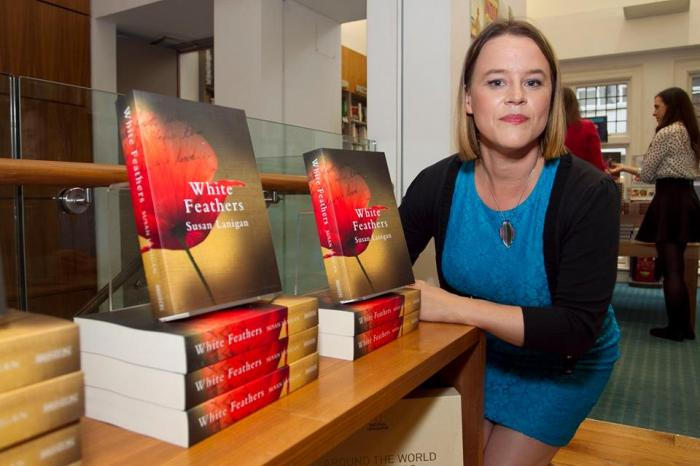 Susan Lanigan, Launch of White Feathers, 27/8/2014