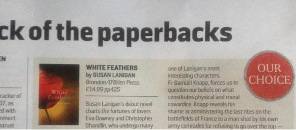 White Feathers Sunday Times Our Choice